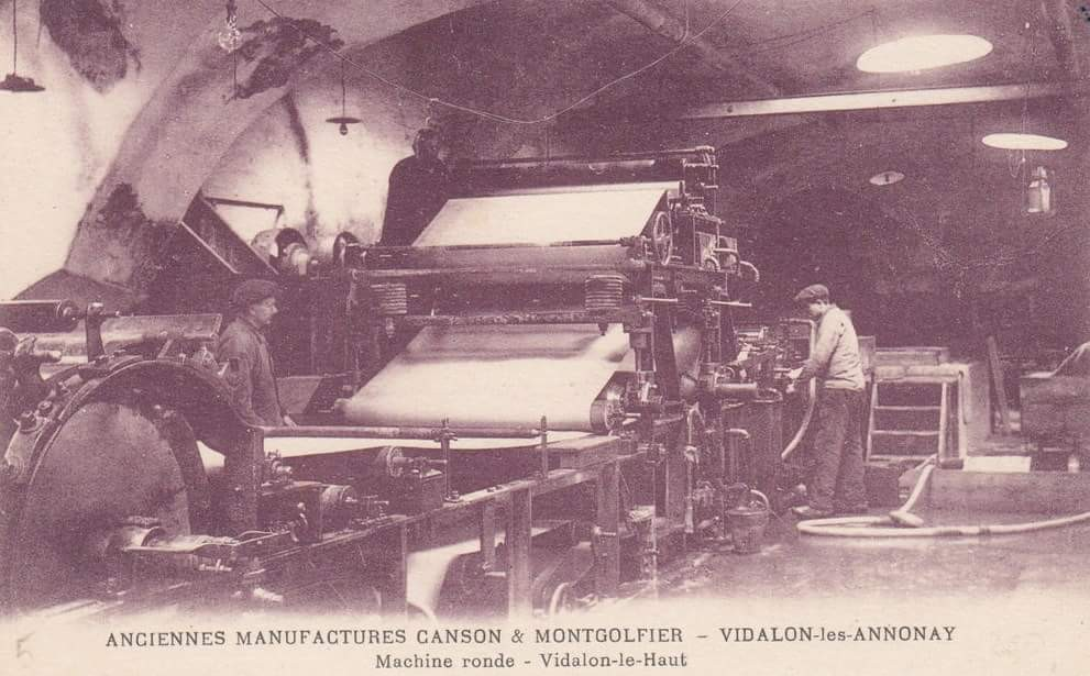 manufactures Canson Annonay-Rhône